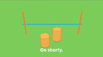 Ritz Crackers Fresh Stacks TV Spot, 'Go Shorty!'