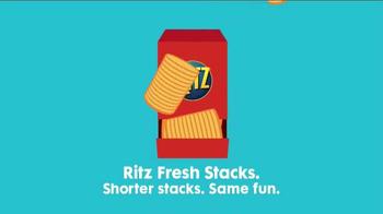Ritz Crackers Fresh Stacks TV Spot, 'Go Shorty!' - Thumbnail 9