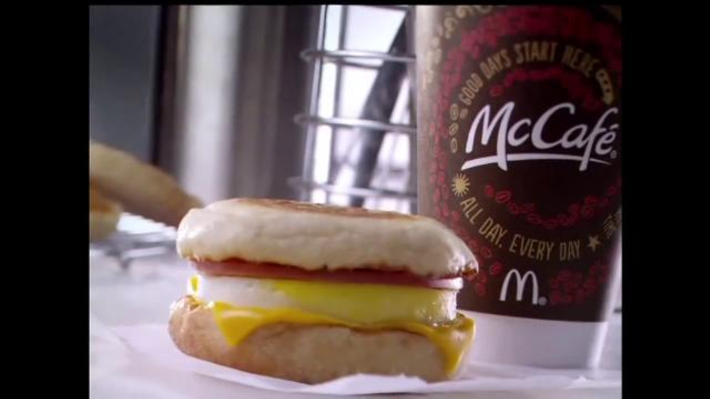 McDonald's Egg McMuffin TV Commercial, 'It's Breakfast'