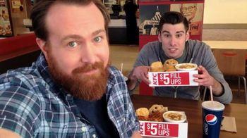 KFC $5 Fill Ups TV Spot