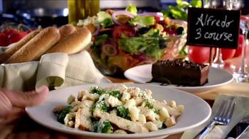 Olive Garden Alfredo Three Course TV Spot, 'Cooking Class' - Thumbnail 2