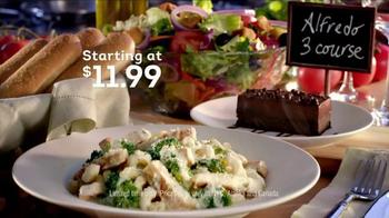 Olive Garden Alfredo Three Course TV Spot, 'Cooking Class' - Thumbnail 9