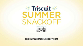 Triscuit TV Spot , 'Summer Snackoff' Featuring Martha Stewart - Thumbnail 10