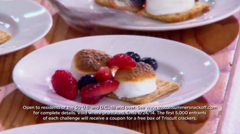 Triscuit TV Spot , 'Summer Snackoff' Featuring Martha Stewart - Thumbnail 5