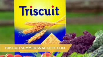 Triscuit TV Spot , 'Summer Snackoff' Featuring Martha Stewart - Thumbnail 6