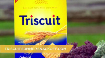 Triscuit TV Spot , 'Summer Snackoff' Featuring Martha Stewart - Thumbnail 7