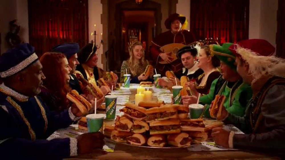 Subway Applewood Pulled Pork Sandwich TV Commercial, 'Family Feud'