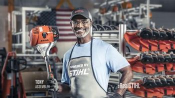 STIHL TV Spot, 'Real People, STIHL People' - 2970 commercial airings
