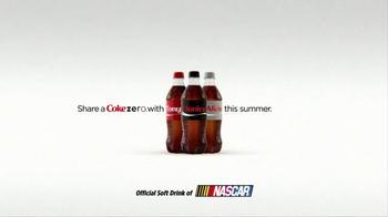 Coca-Cola TV Spot, 'Danica Shares a Coke Zero' Featuring Danica Patrick - Thumbnail 10