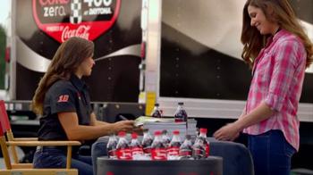 Coca-Cola TV Spot, 'Danica Shares a Coke Zero' Featuring Danica Patrick - Thumbnail 8