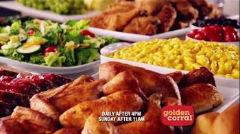 Golden Corral Catfish TV Spot, '$10.99 Steak & Wings Spectacular' - Thumbnail 6
