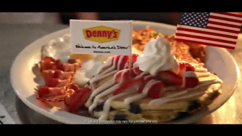 Denny's Red, White and Blue Slam TV Spot, 'Remix' - Thumbnail 8