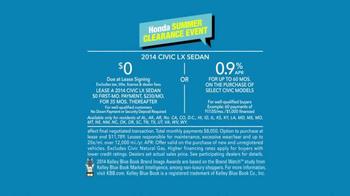 Honda Summer Clearance Event TV Spot, 'Golf Cart' - Thumbnail 9