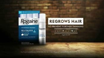Rogaine Foam TV Spot, 'Thicker Hair' - Thumbnail 10