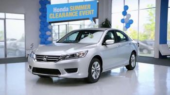 2014 Honda Accord LX Summer Clearance Event Accord TV Spot, 'Sarah' - Thumbnail 5
