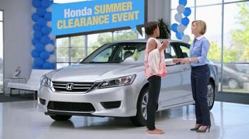 2014 Honda Accord LX Summer Clearance Event Accord TV Spot, 'Sarah' - Thumbnail 7