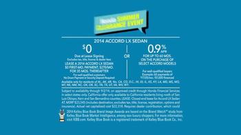2014 Honda Accord LX Summer Clearance Event Accord TV Spot, 'Sarah' - Thumbnail 8