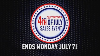Toyota 4th of July Sales Event TV Spot - Thumbnail 8