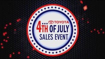 Toyota 4th of July Sales Event TV Spot - Thumbnail 2