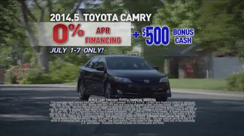 Toyota 4th of July Sales Event TV Spot - Thumbnail 3