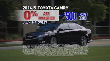 Toyota 4th of July Sales Event TV Spot - Thumbnail 4