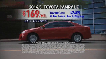 Toyota 4th of July Sales Event TV Spot - Thumbnail 5