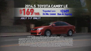 Toyota 4th of July Sales Event TV Spot - Thumbnail 6