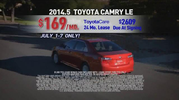 Toyota 4th of July Sales Event TV Spot - Thumbnail 7