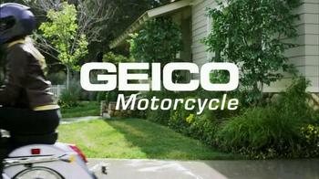 GEICO Motorcycle TV Spot, 'Driveway' - Thumbnail 9