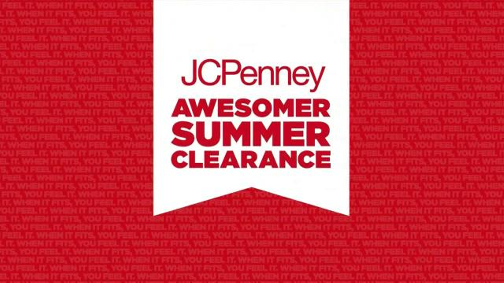 43e7c1a6365 JCPenney Awesomer Summer Clearance Sale TV Spot - iSpot.tv