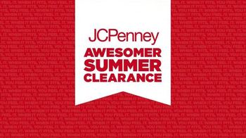 JCPenney Awesomer Summer Clearance Sale TV Spot