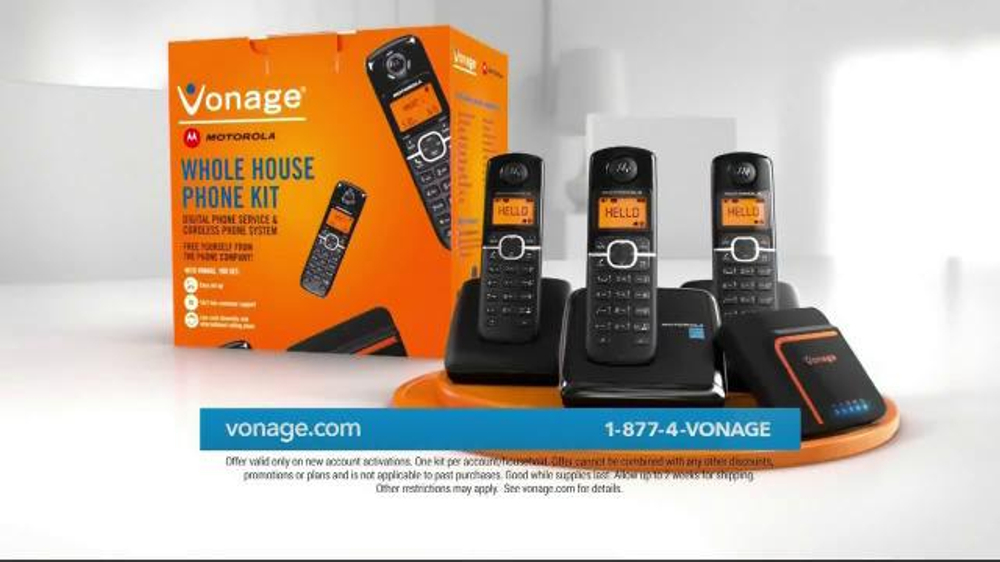 how do you hook up a vonage phone However, you can use your vonage calling plan to make unlimited calls in canada and internationally on up to two smartphones—and you can answer calls made to your vonage phone number from almost anywhere—using the free vonage extensions app.