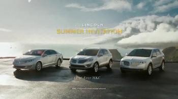 2014 Lincoln MKX TV Spot, 'Summer Invitation' - Thumbnail 10