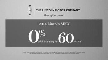 2014 Lincoln MKX TV Spot, 'Summer Invitation' - Thumbnail 9