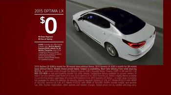 2015 Kia Optima Sign it & Drive it Sales Event TV Spot - Thumbnail 4