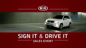 2015 Kia Optima Sign it & Drive it Sales Event TV Spot - 4319 commercial airings