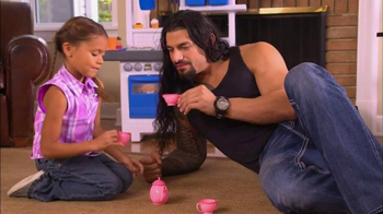 Fatherhood Involvement TV Spot, \'Tea Pot\' Featuring Roman Reigns
