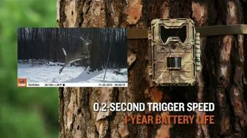 Bushnell Trophy Cam HD TV Spot, 'Three Times Faster'