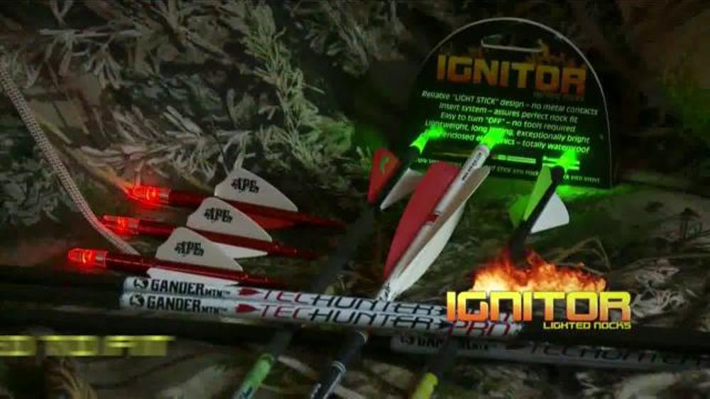 NuFletch Ignitor Lighted Nocks TV Commercial - Video