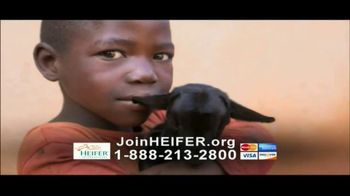 Heifer International TV Spot, 'The Solution is Simple'