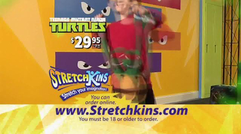 StretchKins Teenage Mutant Ninja Turtles TV Spot - Thumbnail 8