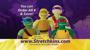 StretchKins Teenage Mutant Ninja Turtles TV Spot - Thumbnail 9