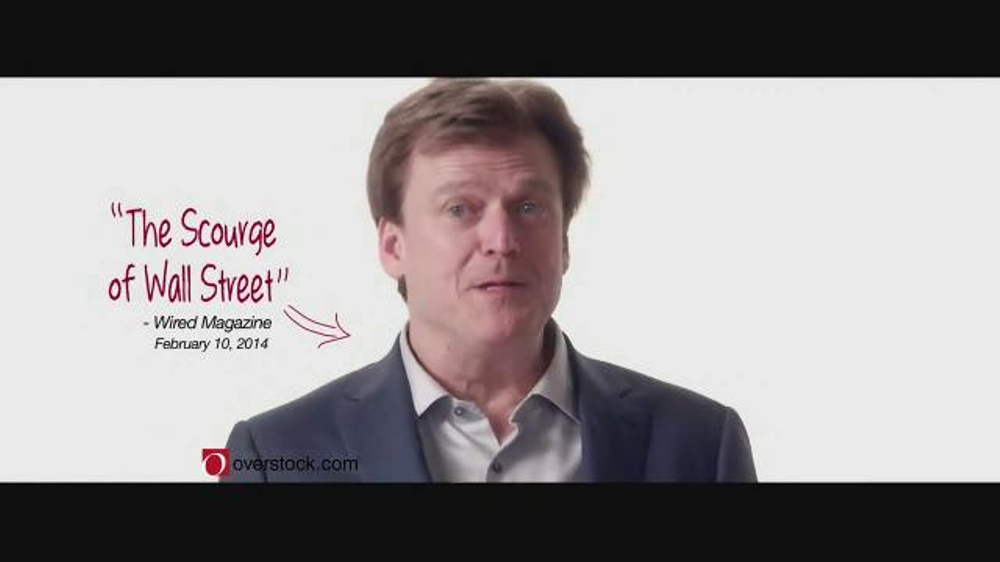 Overstock.com TV Commercial, \'Scourge of Wall Street\' - iSpot.tv