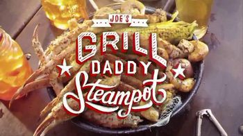 Joe's Crab Shack TV Spot, 'Grill Daddy Steampot'