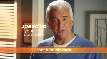 SpeedCounts.com TV Spot, 'Help Has Arrived' Featuring John O'Hurley