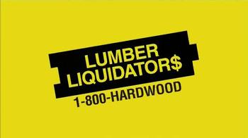 Lumber Liquidators TV Spot, 'Incredible Savings' - Thumbnail 1