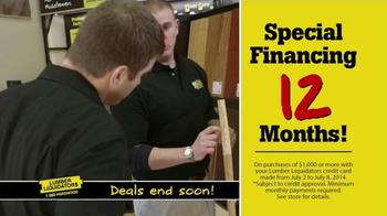 Lumber Liquidators TV Spot, 'Incredible Savings' - Thumbnail 7