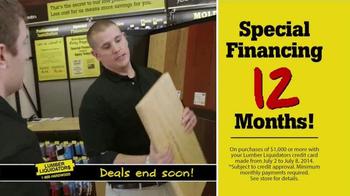 Lumber Liquidators TV Spot, 'Incredible Savings' - Thumbnail 6