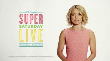 QVC Super Saturday Live TV Spot Featuring Kelly Ripa - Thumbnail 3