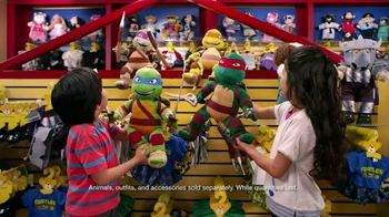 Build-A-Bear Workshop TV Spot, 'Teenage Mutant Ninja Turtles'